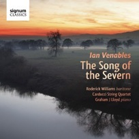 Cover of Song of the Severn - CD by Ian Venables