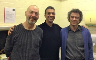 Roderick Williams, Paul Lewis and Mark PAdmore