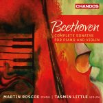 CD Cover for Beethoven Sonatas by Tasmin Little and Martin Roscoe
