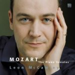 CD Cover of Leon McCawley's Mozart Piano Sonatas