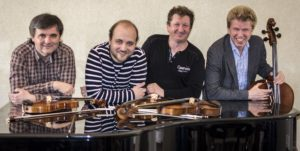 Wihan Quartet performing at Malvern Concert Club