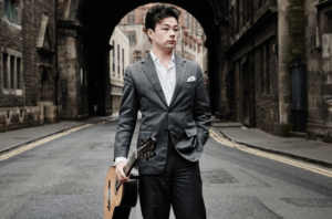 Sean Shibe, Classical Guitar - giving a concert for Malvern Concert Club on 6th April 2018