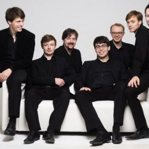 The Gesualdo Six are performing for Malvern Concert Club 16 Feb 2020