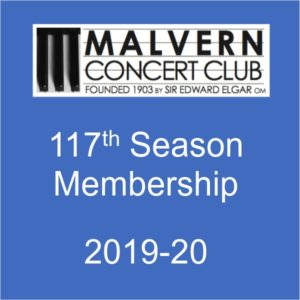 Membership of Malvern Concert club for 2019-20