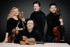 Pavel Haas Quartet are performing for Malvern Concert Club 31 October 19