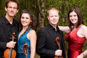 The Carducci Quartet - photo by Andy Holdsworth